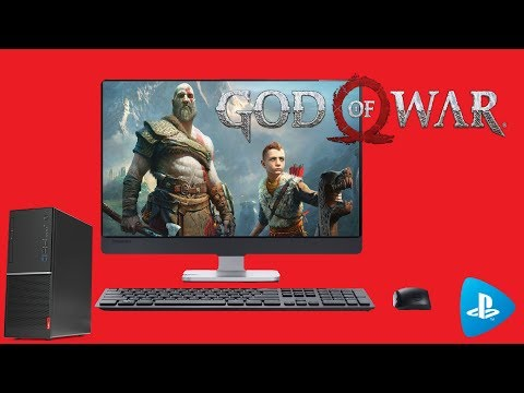 God Of War 2018 on PC (PS NOW)