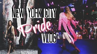 NYC PRIDE | vlog | Tea & Glitter