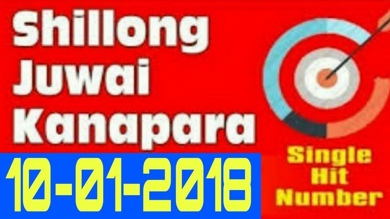 Shillong Teer Results 10/01/2018 Today Shillong Khanapara Teer Common Number & Making Number #1