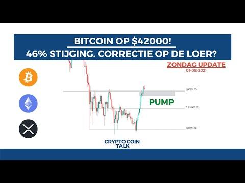 Bitcoin (BTC) Correctie Of Beweging Richting $49.000? Ripple (XRP) En Ethereum (ETH) Analyse