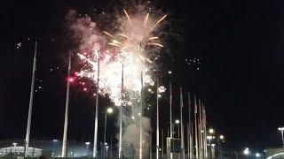 Шоу-чемпионат салютов в Сочи 2018