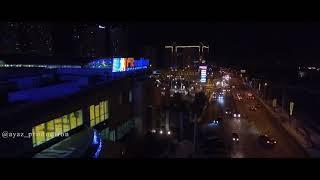 Almaty City 2017 самые красивые ночной Алматы AYAZ...