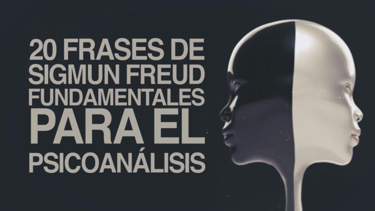 Frases De Freud Psicologia: 20 Frases De Sigmund Freud Fundamentales Para El