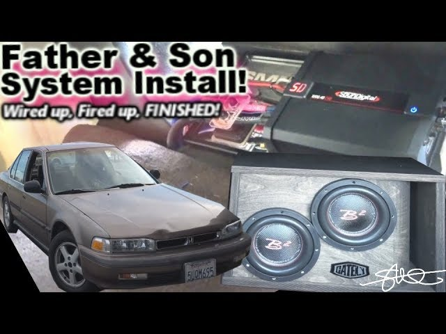 wired-up-fired-up-finished-father-son-fun-first-car-stereo-install-1990-honda-accord-video-5