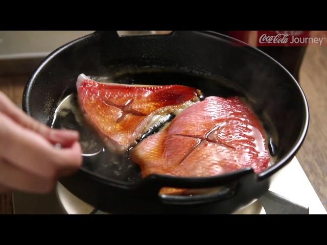 【コカ・コーラジャーニー】 日本コカ・コーラの社食から Vol.2 「コカ・コーラ」で煮付けた金目鯛
