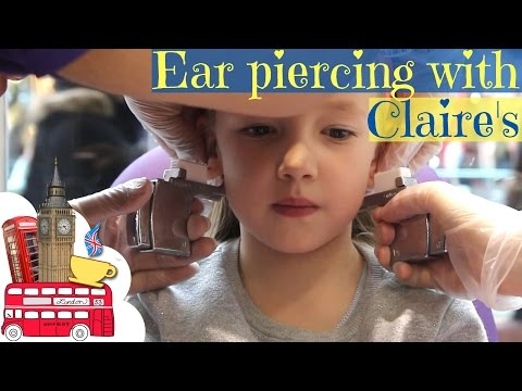 Ears Piercing with Claire's I Alissa's experience