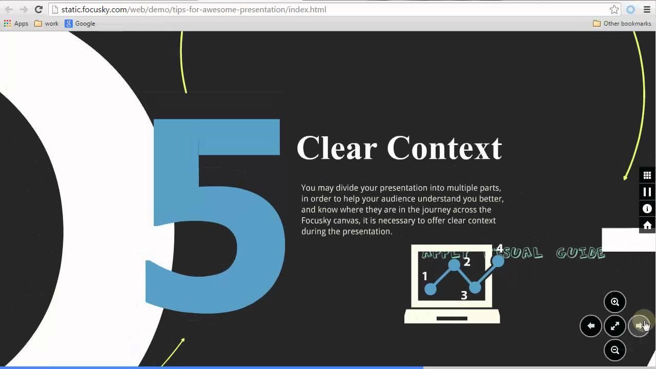 free prezi alternative focusky to create animated non-linear, Powerpoint templates