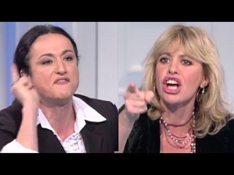 Lo storico scontro tra Vladimir Luxuria e Alessandra Mussolini a Porta a Porta - L'Arena 02/07/2017