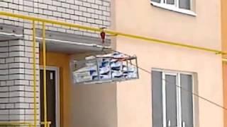Виды лебедок (электрическая)(Энциклопедия переезда Подъем строительных материалов на этаж при помощи электрической лебедки: http://avega-dom.c..., 2014-07-01T00:00:30.000Z)