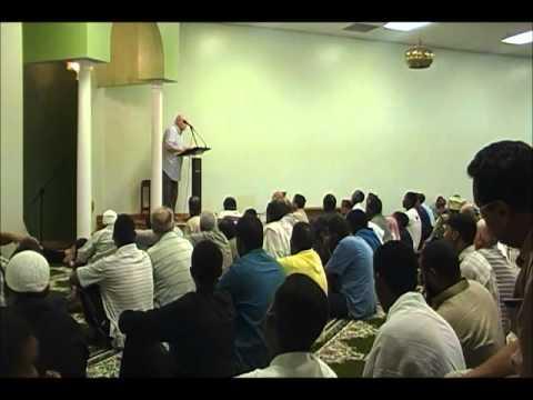 Friday sermon Burnsville MN mosque July 06, 2012 خطبة الجمعه