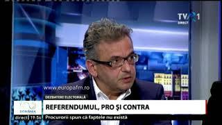 Un operator TVR intrerupe emisia despre Referendumul pentru redefinirea familiei
