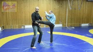 Явара. Защита от ударов ногами. Часть 1