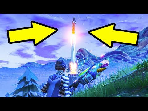 🚀 Fortnite Rocket Launch 🚀(Rocket Launching)