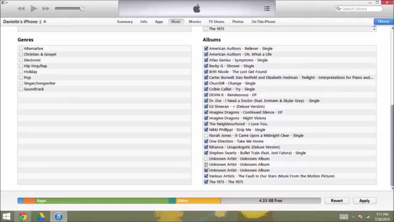 FREE and EASY Way to Put Music Not Purchased in iTunes on Apple Devices