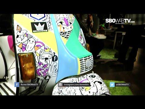 Aksi Serikat Mural Surabaya Di Paper Bag Art Exhibition