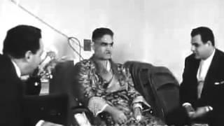الرئيس العراقي عبد الكريم قاسم في المستشفى بعد عملية الاغتيال الفاشلة عام 1959