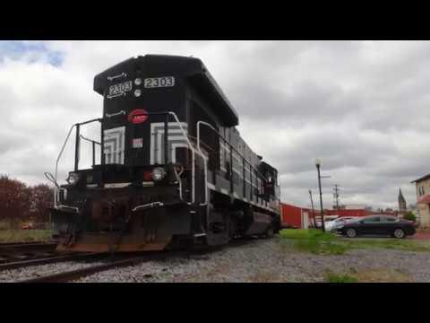 Finger Lakes Railway GE B23-7 #2303 in Geneva, NY.Photo Slideshow