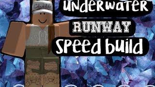 [tBrobloX] Unterwasser Roblox Runway Speed Build