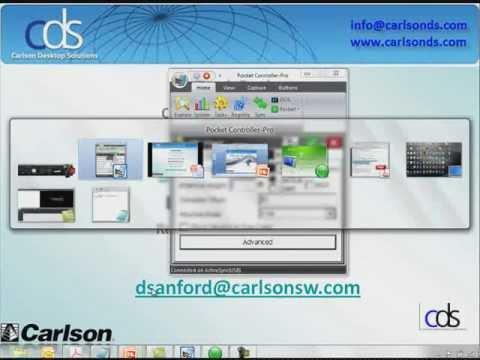 Carlson SurvCE GPS Webinar