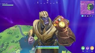 Winning against Thanos using sky base tactics