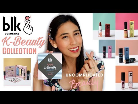 NEW COLLECTION OF BLK COSMETICS  KBEAUTY COLLECTION First Impression + Review  PHILIPPINES