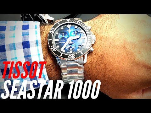 Watch Review - Tissot Seastar 1000 Quick Watch Review / India