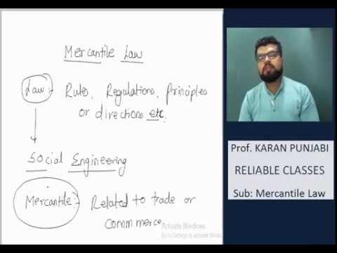 Meaning of Contract - 1 - Prof. Karan Punjabi