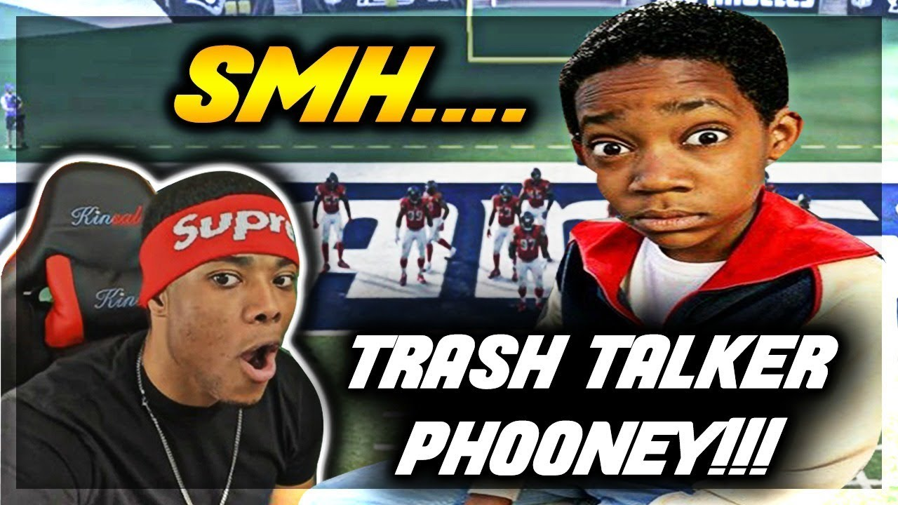 FAKE TRASH TALKER EXPOSED! You won't Believe what he did... | Madden 18 Online Gameplay | Jmellflo