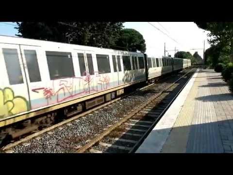 Ostia Antica station, Rome–Lido railway, Italy