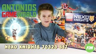 LEGO Nexo Knights 70323  Jestro's Volcano Lair - review, speed build and play!