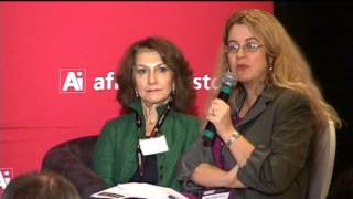 Hela Cheikhrouhou, Director Energy, AfDB, at the Ai CEO Infrastructure Investment Summit 2013