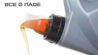 Замена масла и масляного фильтра. Лада Калина (Lada Kalina)