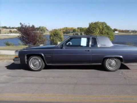 1983 Cadillac Coupe Deville Huron Sd Youtube