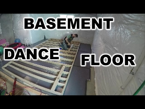DIY | DANCE FLOOR IN YOUR BASEMENT | THE HANDYMAN