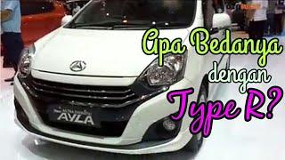 Daihatsu New Ayla Type X 2018 Bedanya Apa dengan Type R?