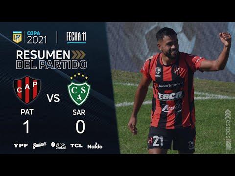 Copa de la Liga   Fecha 11   resumen de Patronato - Sarmiento