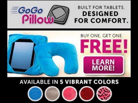 GoGo Pillow GoGo Pillow As Seen On Tv - YouTube
