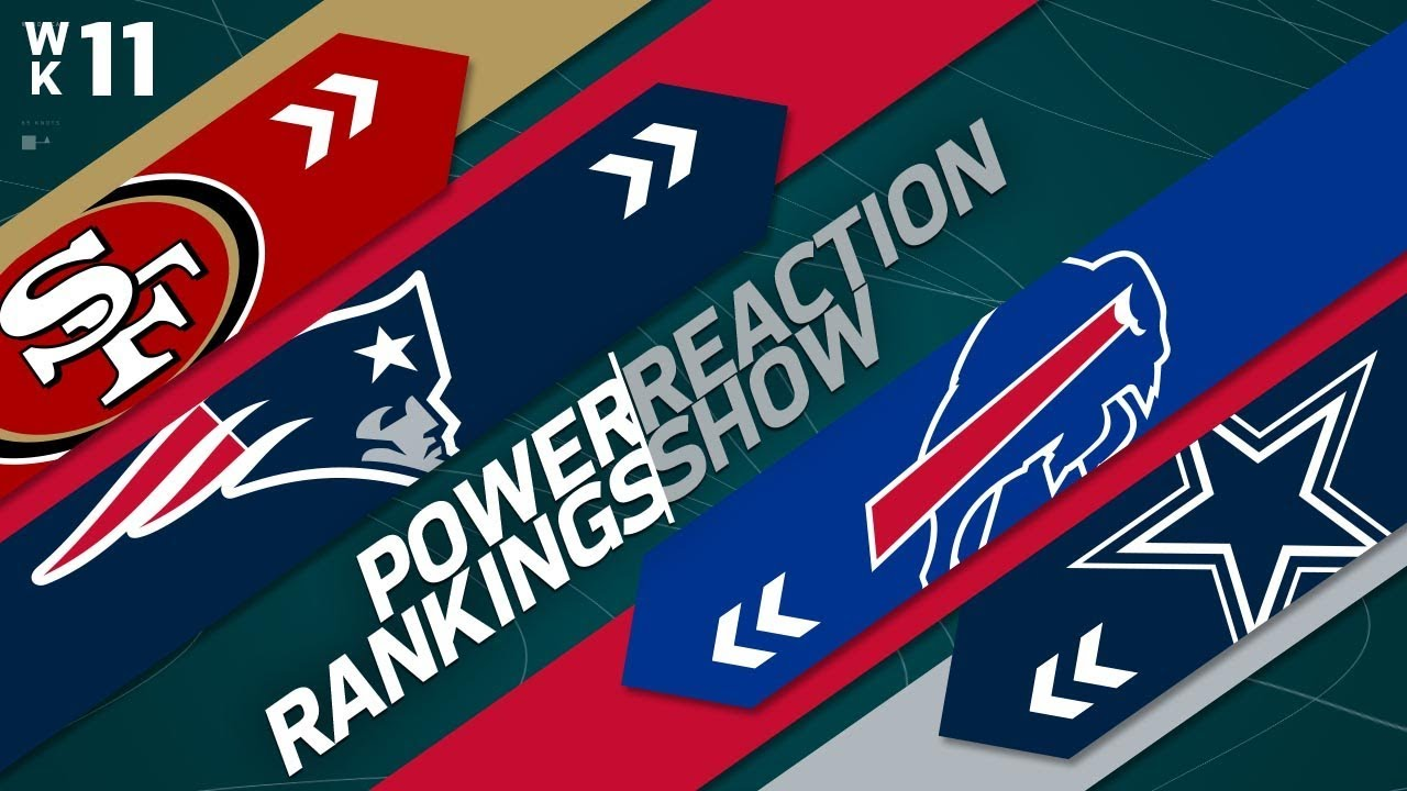 power-rankings-week-11-reaction-show-are-the-steelers-overrated-nfl-network