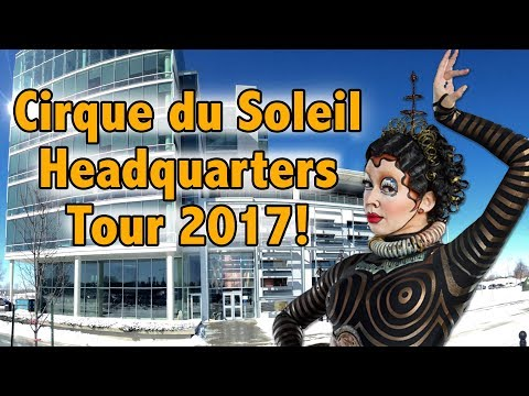 Curious about what Headquarters is like? | Cirque du Soleil Open House at International Headquarters