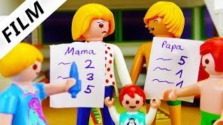 Playmobil Film deutsch | ELTERN-ZEUGNISSE - Wer ist besser? Mama VS Papa | Kinderfilm Familie Vogel