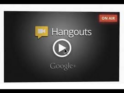 Using Google Hangout Live To Host Webinar Youtube