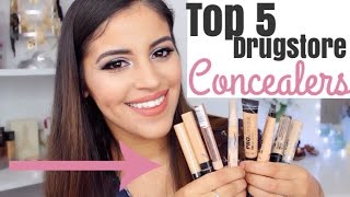 Top 5 Drugstore Concealers for Dark Circles