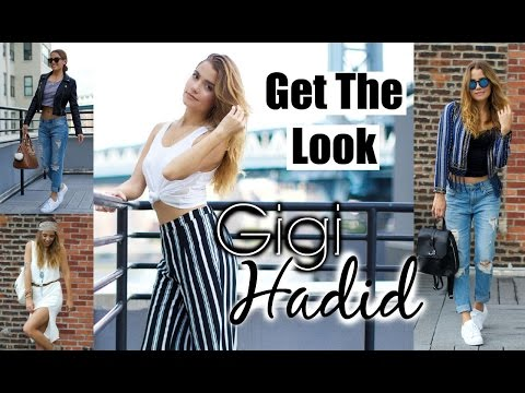 Get The Look: Gigi Hadid | Everyday Makeup + Casual Outfits!
