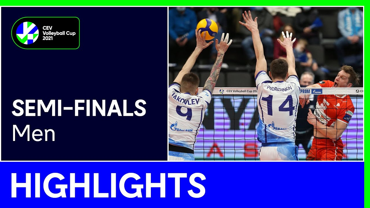 Zenit SAINT PETERSBURG vs. VC Greenyard MAASEIK Highlights - #CEVCupM