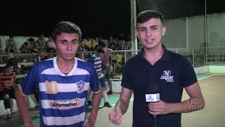 Copa Severino Corrêa entrevistas da Final do sub 16