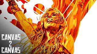 Straight FIRE! Becky Lynch's road to SummerSlam comes alive! - WWE Canvas 2 Canvas