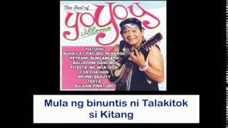 Piyesta (Ng Mga Isda) By Yoyoy Villame (With Lyrics)
