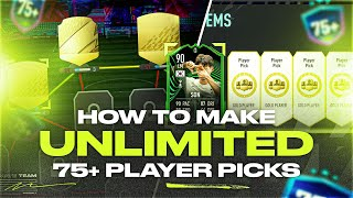 How to Make Unliṁited FREE 75+ Player Pick Packs!