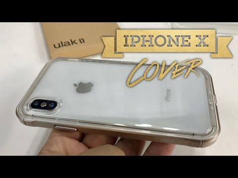 iPhone X Hybrid Frame Bumper and Clear TPU Case by ULAK Review