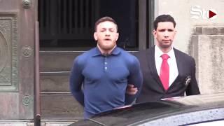 Conor McGregor se entrega a la policía tras agresión